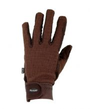 TOGGI SALISBURY RIDING GLOVE - BROWN